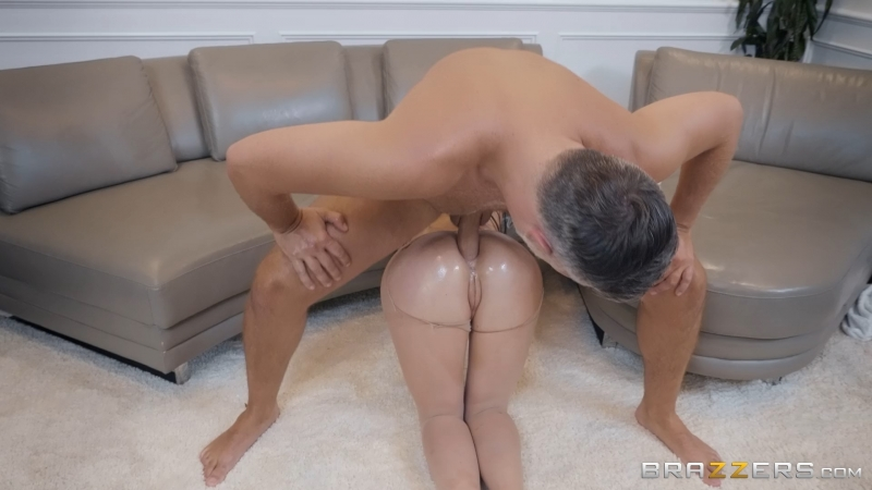 Angela White ( Pounding Her Pantyhose) 2018, A2 M, Anal, Big Tits, Face Fuck, Facial, Oil, Straight, Swallow,