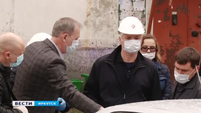 Глава Иркутской области Игорь Кобзев выехал в Тулун чтобы проверить ход строительства жилья и соцобъектов