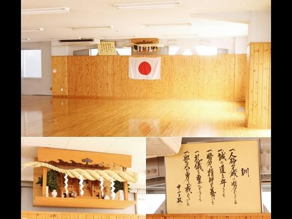 Karate training at JKA Hombu Dojo