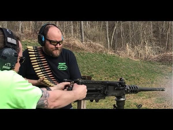 2019 Test Fire of 56 Machine Guns One Take No Edits