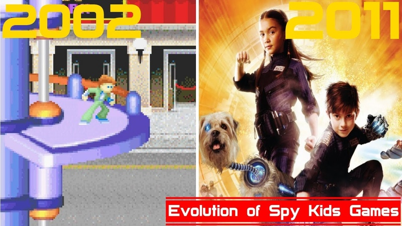 Evolution of Spy Kids Games [2002-2011]