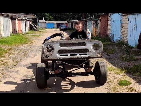 УАЗ турбо. часть 9 пуск двигателя