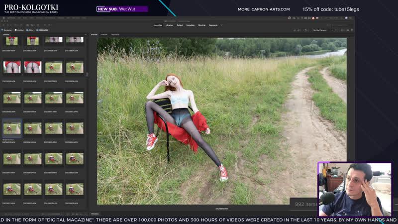 Women in Pantyhose Art live