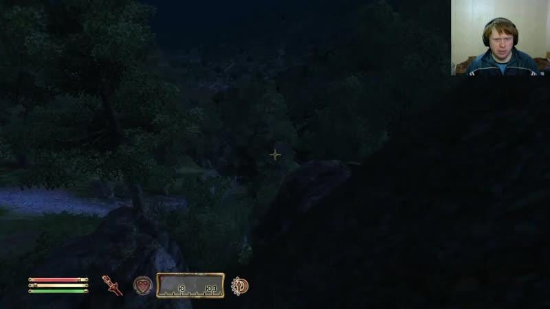 Oblivion 123 Схватка с королем Маннимарко и Глава гильдии магов