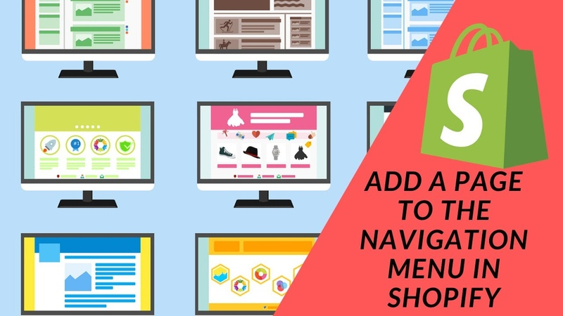 Shopify Tutorial How To Start a Profitable eCommerce Store Pt 8 Adding Pages to Navigation Menu