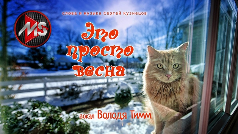 Это просто весна вокал Володя Тимм сл и муз С Кузнецов