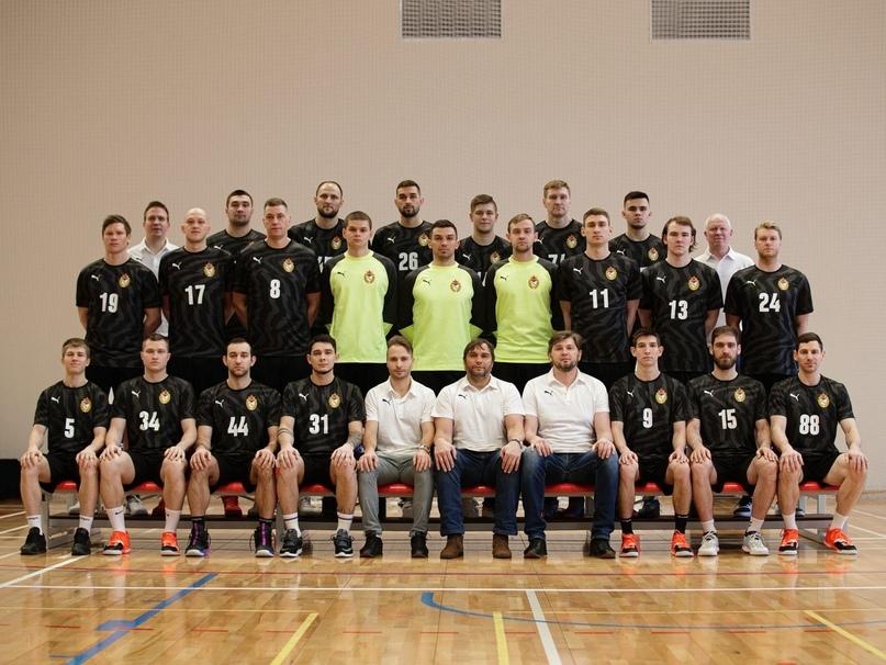 Мужская гандбольная команда ЦСКА