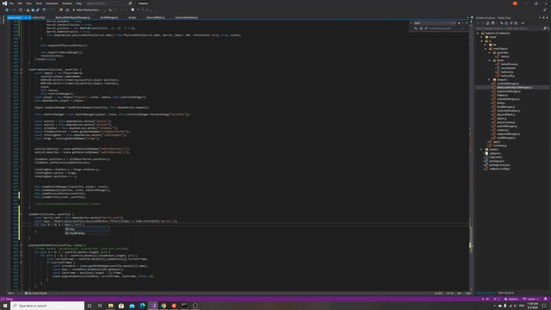 Live Dev Exploring Сохранение бочек по нормальному