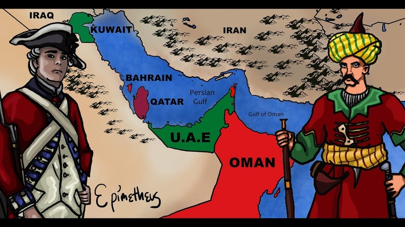 History of the Persian Gulf explained Bahrain Kuwait Qatar Oman and the UAE