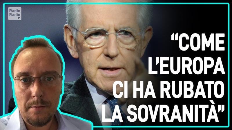L'ITALIA NON È PIÙ UNO STATO CI HANNO TOLTO LA SOVRANITÀ E LA DEMOCRAZIA ► Marco Mori