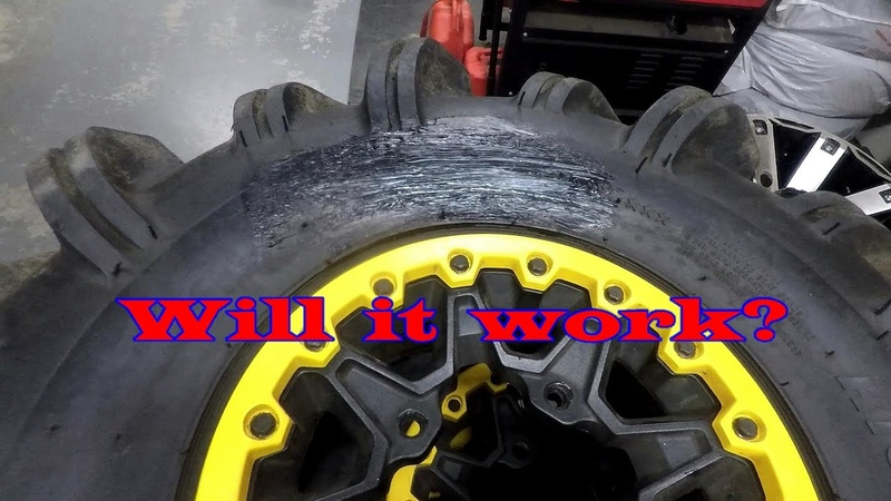 Can I fix an ATV Tire Sidewall Gash