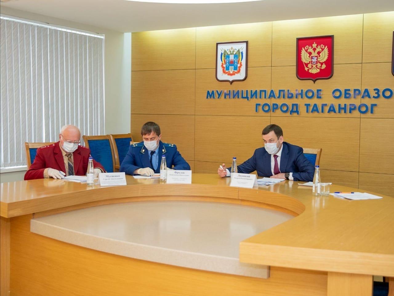 Глава Администрации Таганрога Андрей Лисицкий провёл совещание с руководителями крупных объектов торговли