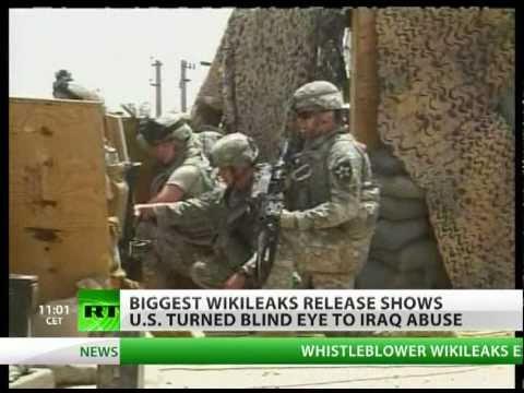 WikiLeaks Iraq War Logs Torture, civilian death toll revealed in latest leak