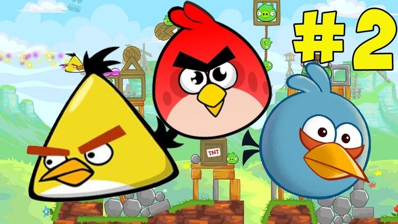 Злые птички Angry Birds 2 серия на канале МиниМакс