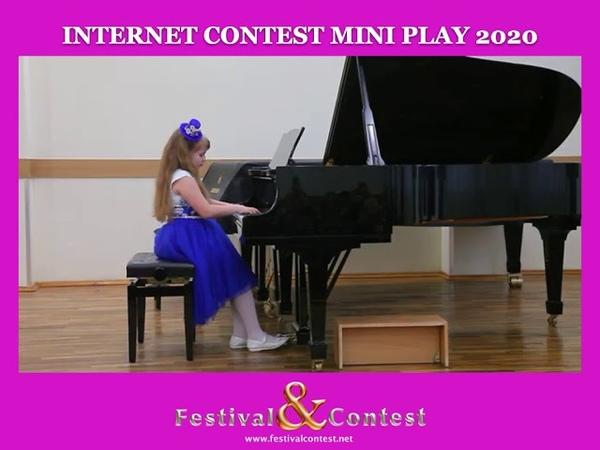 Web Art FestivalContest - Koldaeva Elisaveta, Piano, MINI PLAY 0505 2020