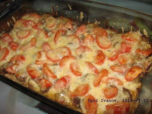 Куриная печень по-итальянски  Ингредиенты: 500 гр. куриная печень 150 гр. сыр...