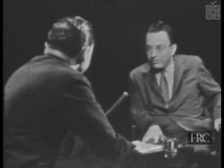 Интервью с Эрихом Фроммом на телеканале Эй-би-си (эфир от 25 мая 1958 г.)