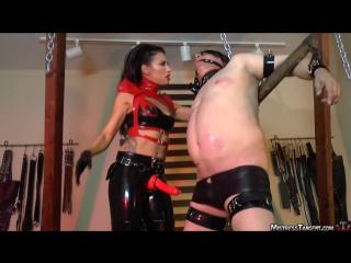 mistress tangent red reaming [Leather Mistress FemDom Anal Facesitting Strap On Latex Fetish BDSM Bondage Hardcore]