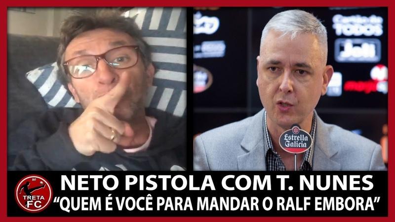 NETO DETONA TIAGO NUNES POR MANDAR RALF E JADSON EMBORA DO CORINTHIANS