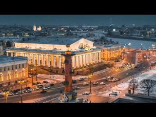 Зимняя сказка вечернего Петербурга.