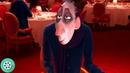 В ресторан приходит самый знаменитый и суровый ресторанный критик Антуан Эго. Рататуй (2007) год.