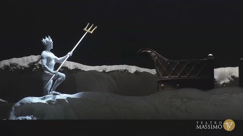 Wolfgang Amadeus Mozart Idomeneo re di Creta Идоменей царь Критский или Илия и Идамант Палермо 2019