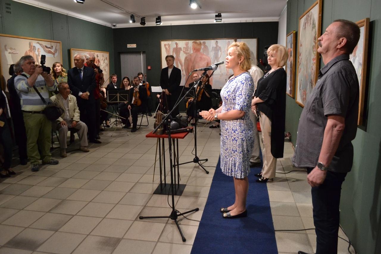 В Курске проходит выставка к 120-летию Дейнеки