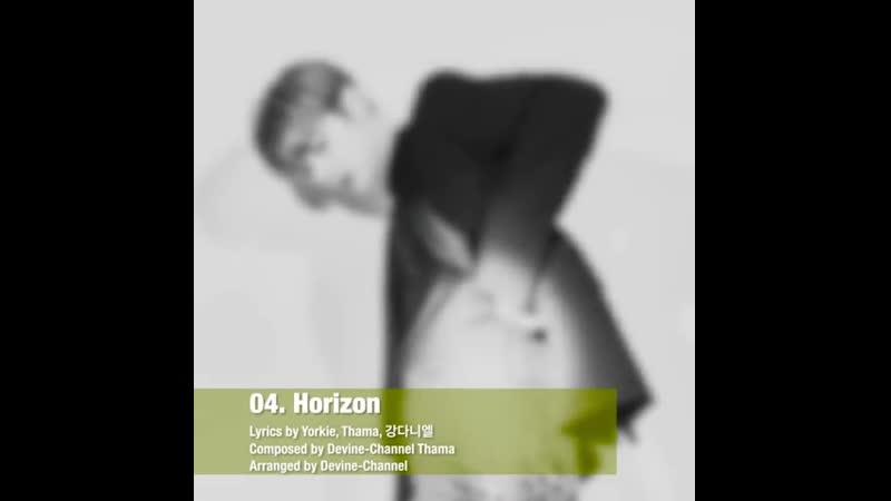 2019.07.25 1800 강다니엘 (KANG DANIEL) Special Album 'color on me' Track 4 Horizon