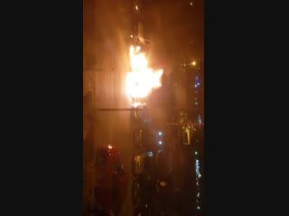 На Левенцовке сгорели две машины -  - Это Ростов-на-Дону!
