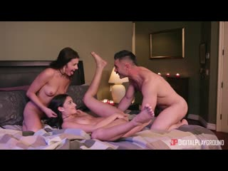 Adria Rae and Emily Willis - Private Party. Part 3 [All Sex, Hardcore, Blowjob, Threesome]
