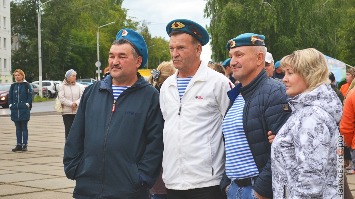 День ВДВ, чайковский район, 2019 год
