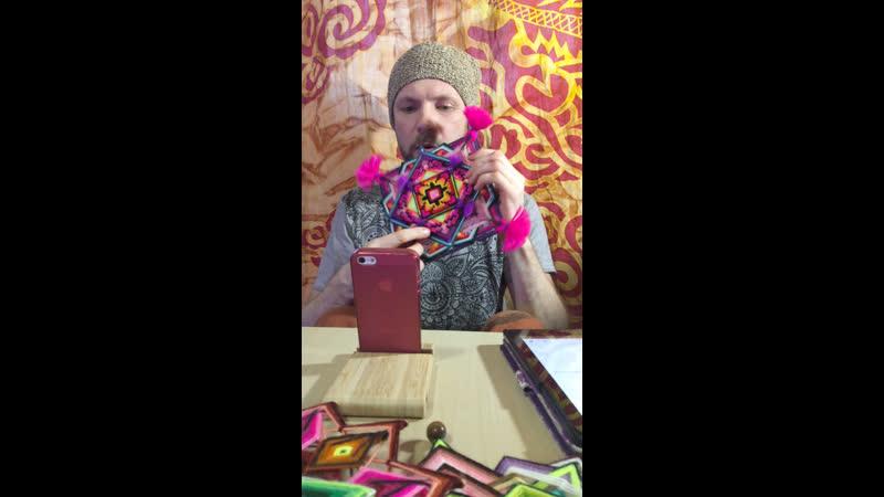 Михаил отвечает на вопросы Аллы Нехаевской в пряом эфире ее инстаграмма