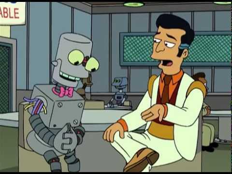 Futurama — The exploding robot
