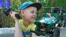 Макс и новая машинка Джип на управлении. Видео про машинки для детей. Игрушки для мальчиков
