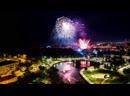 Невероятный салют на День города в Липецке! 20.07.2019