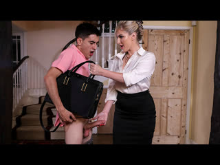 [Brazzers] Georgie Lyall - Pounding The Problem Son NewPorn2019
