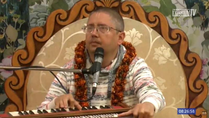 Прямой эфир Шримад Бхагаватам 6 5 23 Яшоматинандана дас