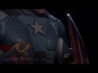Marvels Avengers Character Profile - Captain America