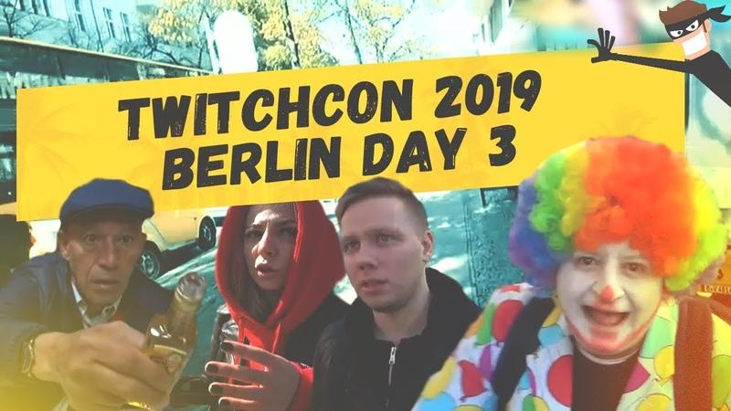 Berlin Day 3 - Кыцу чуть не обворовали