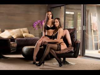 Desiree Dulce, Rachel Starr [PornMir, ПОРНО, new Porn, HD 1080, Big tits, threesome, hardcore, lingerie, stockings]