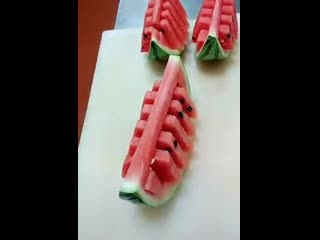 100500 способов нарезки арбуза