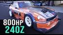 WILD Datsun 240Z time attack racer