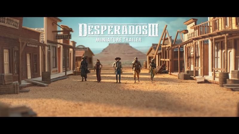Миниатюрный трейлер Desperados III