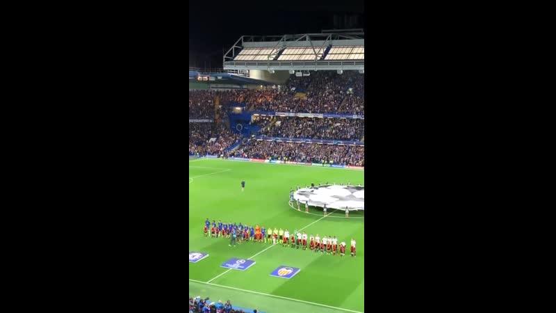 Гендиректор Спартака Цорн посетил матч Челси - Валенсия. Видео - из инстаграм-сторис Цорна.