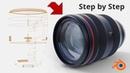Blender 2.80 for making a Camera Lens (Non Destructive Modeling Workflow)