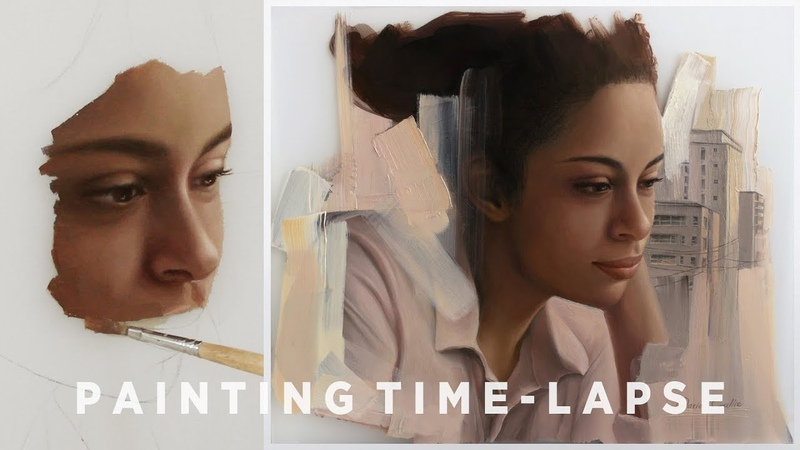 "OIL PAINTING TIME-LAPSE || ""Whereabout"""