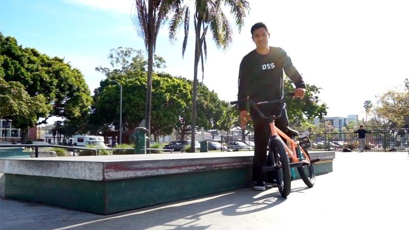 BMX - FLAT LEDGE GRIND CHALLENGE WITH ANDY GARCIA insidebmx