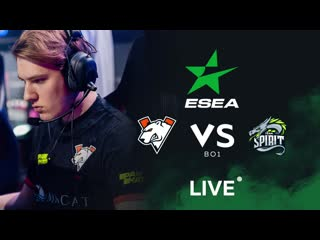 vs Team Spirit, bo1. ESEA MDL S32
