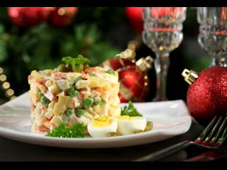 5 салатов на новый год