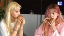 K-pop Stars Try In-N-Out (LOONA   이달의 소녀)